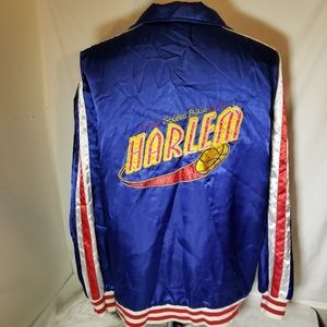 Harlem Jacket Street Ball Red White & Blue Silk XL